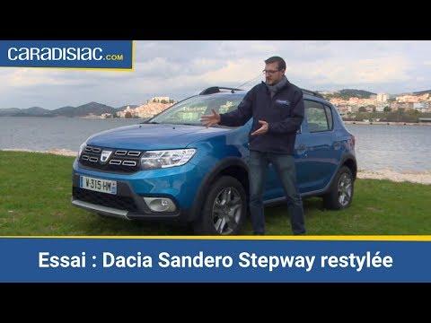 Essai Dacia Sandero Stepway restylée 2017 : de moins en moins low-cost