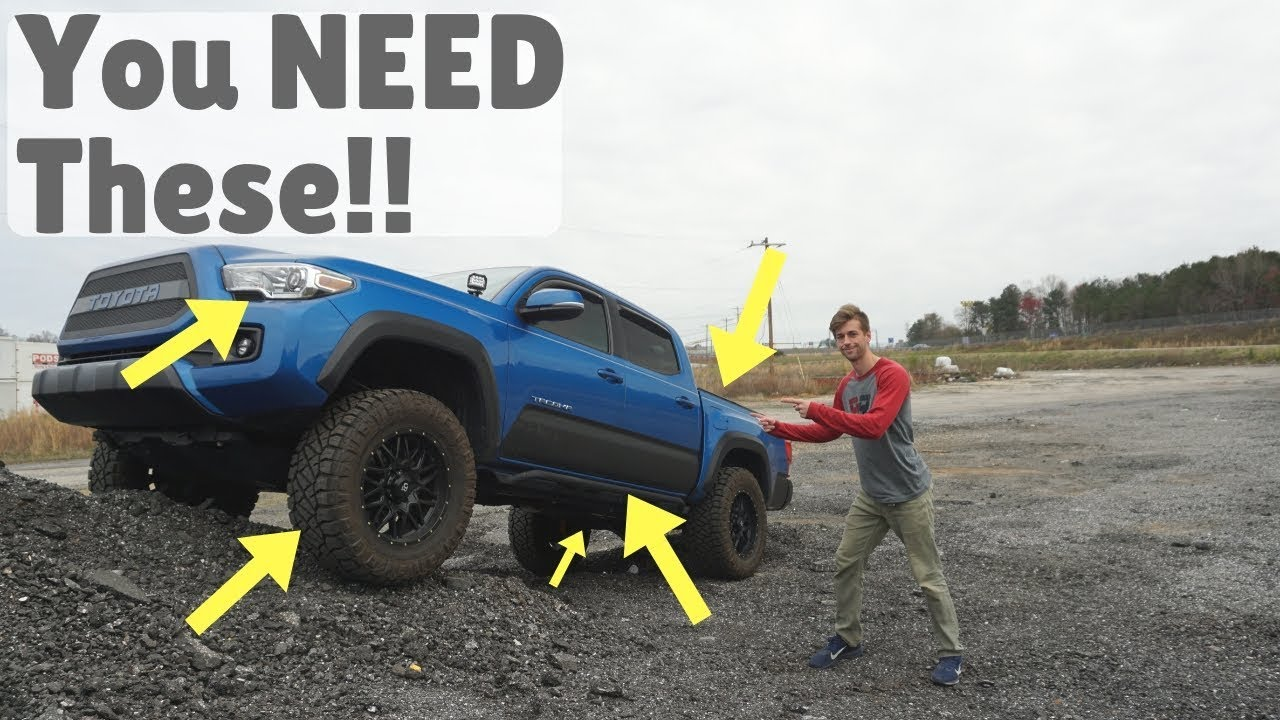 Toyota Tacoma Mods >> 5 Modifications Every Tacoma Owner Should Have
