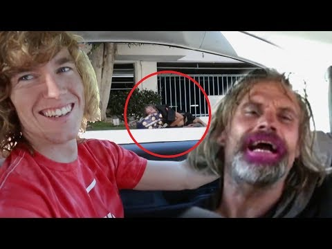 Picking Up A Homeless Guy!
