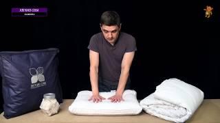 Подушки и одеяла Легкие сны коллекция Камилла - обзор