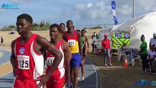 BSSAC 2018 Frank Blackman zone Day 2 4x400m boys