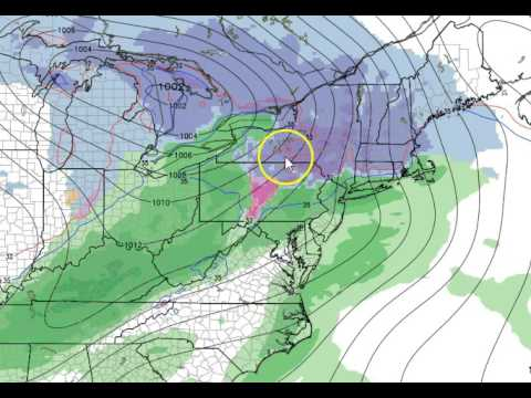 Weekend forecast video for Sat/Sun December 10th/11th, 2016