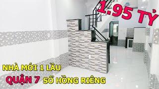 Bán Nhà Ngay Trung Tâm Quận 7 264 Lê Văn Lương Sổ Riêng Hoàn Công | Bán Nhà Quận 7 | Tuong Nguyen