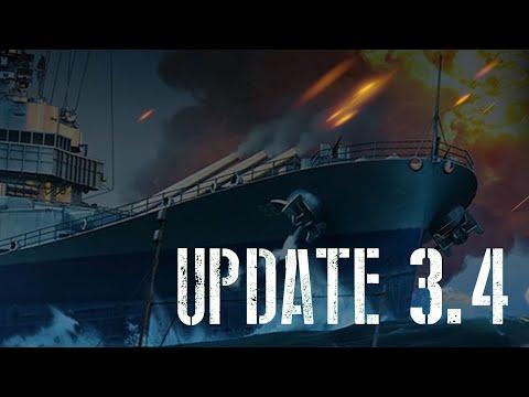 World Of Warships Blitz - Update 3.4