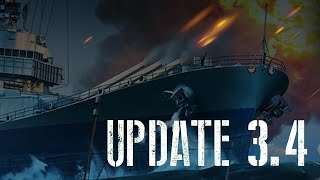 World of Warships Blitz - Update 3.4
