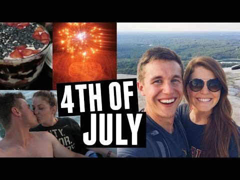 4th of July Weekend // Stone Mountain, Callaway Gardens & Boat Day
