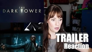 The Dark Tower | Official Trailer REACTION