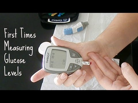Measuring Glucose Levels (First times) | Diabetes Research Experiment
