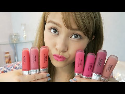 NEW Revlon Ultra HD Matte Lipcolor❤︎ TRY ON!
