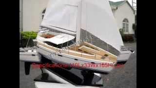 OYSTER 72 - HANDICRAFT MODEL BOAT - WOODEN MODEL BOAT