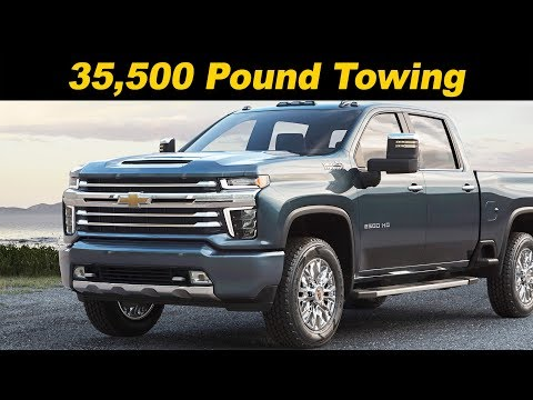 2020 CHEVROLET SILVERADO HEAVY DUTY – Features, Design, Factory