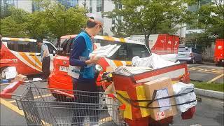 집배물류혁신을 선도하는 북부산우체국(제공: 부산지방우정…
