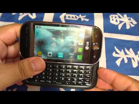 Review celular LG GW620. Un celular para geeks, bloggers, techies... Parte 1
