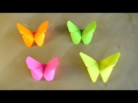 Origami Butterfly How To Fold A Butterfly Out Of Paper Diy Room Wall Decor Easy Tutorial