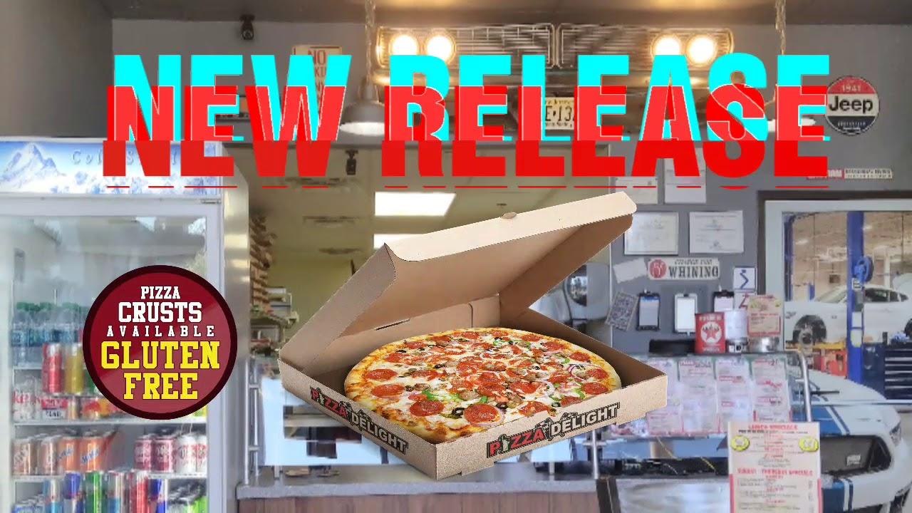 Pizza Delight's Gluten Free Options - YouTube