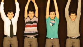 Party in the USA Cover - made by mouth, voice and tambourine - Acapella - Mike Tompkins