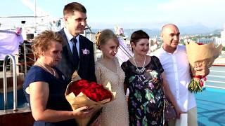 Свадьба на лайнере