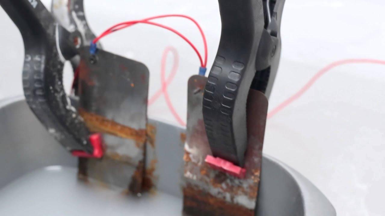 Rust Electrolysis Youtube - Year of Clean Water