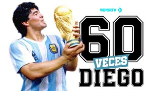 DE COLECCIÓN - Especial #60VecesDiego - 60 momentos inolvidables de Diego Maradona en su cumpleaños