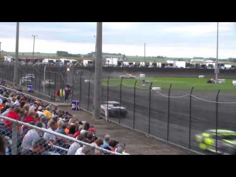 Stock Car Heat 2 @ Hancock County Speedway 07/29/16