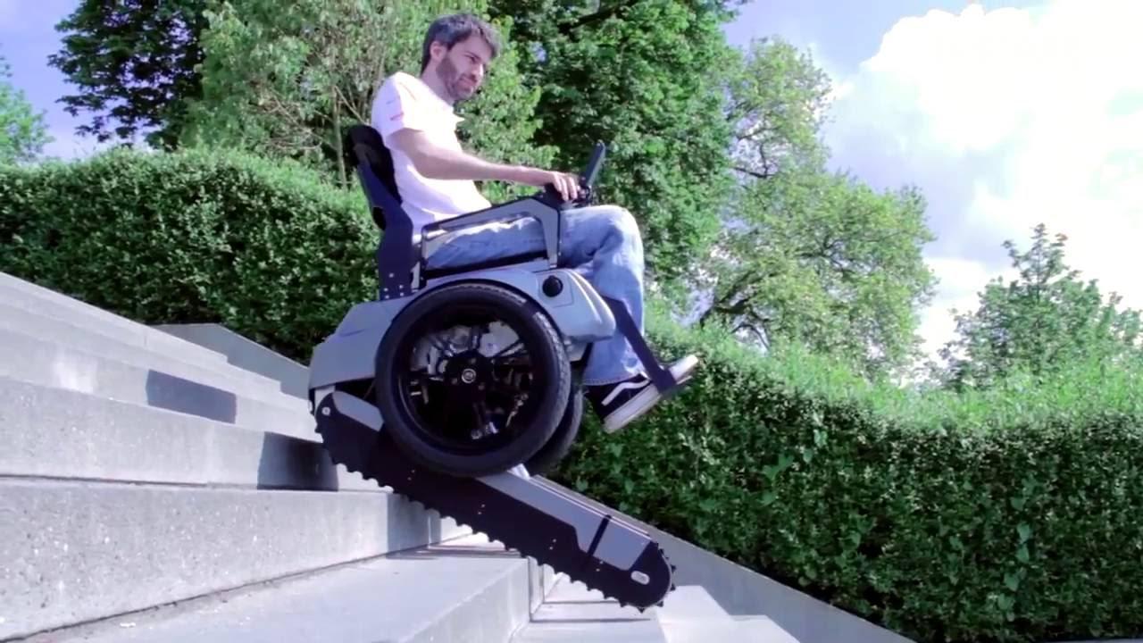 chaise roulante qui monte les escaliers youtube