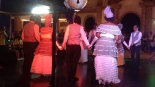 We Deh Yah Cultural Dancers Maharp, Sashay & Tushay (Martinique-June 2015)