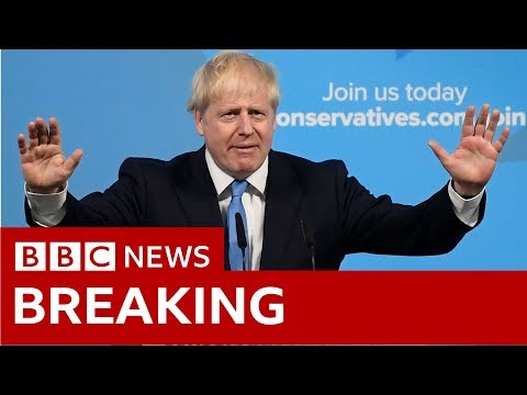 Boris Johnson's first speech as party leader- BBC News