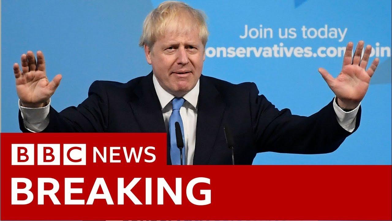 Boris Johnson's first speech as party leader- BBC News