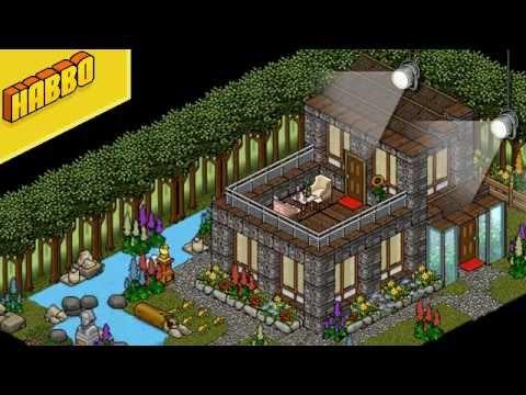 Habbo room review 5 youtube for Casa moderna en habbo fantasy
