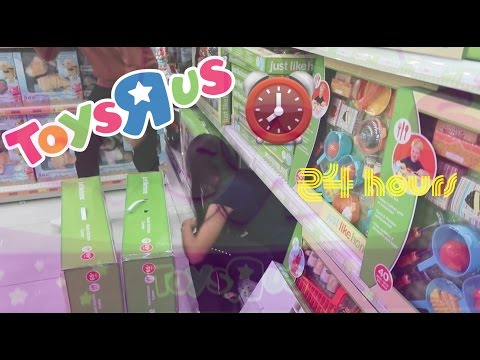 24 Hours In Toys R Us Challenge?!