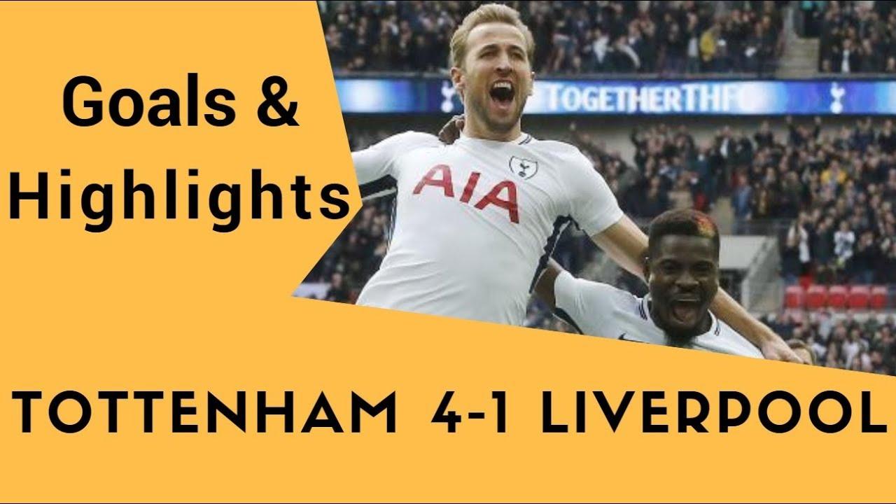 Download Tottenham vs Liverpool (4-1) - All Goals & Highlights 22.10.2017 HD