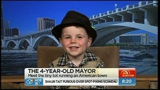 Meet the four-year-old Mayor