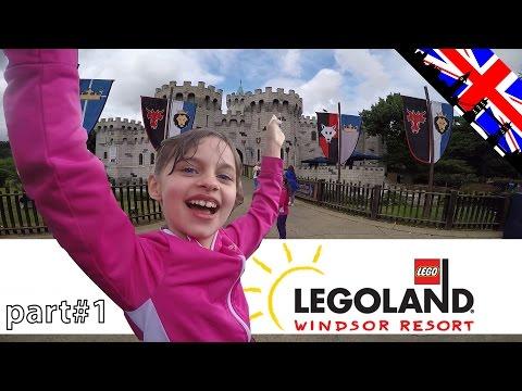 [VLOG] Beaucoup de fun à Legoland Windsor - Studio Bubble Tea visiting Legoland Windsor near London