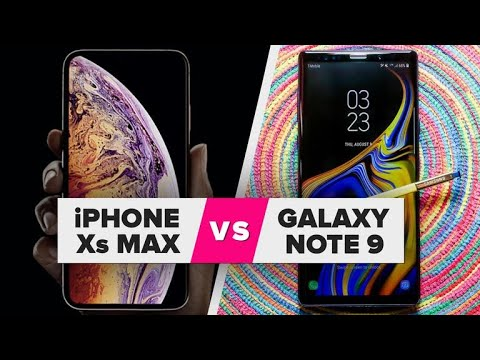 iPhone XS Max vs. Galaxy Note 9: Spec comparison