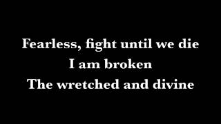 Wretched and Divine - Black Veil Brides Lyrics