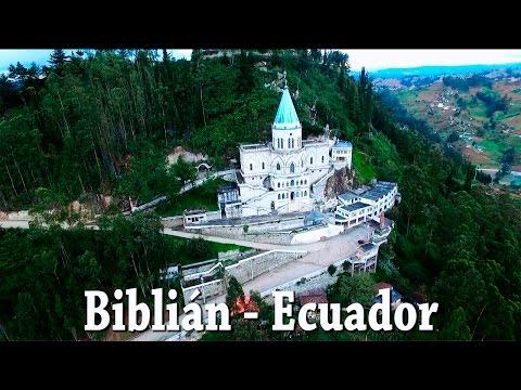 Biblián - Ecuador vista desde el aire