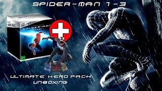 Spider-Man 1-3 Ultimate Hero Pack Unboxing