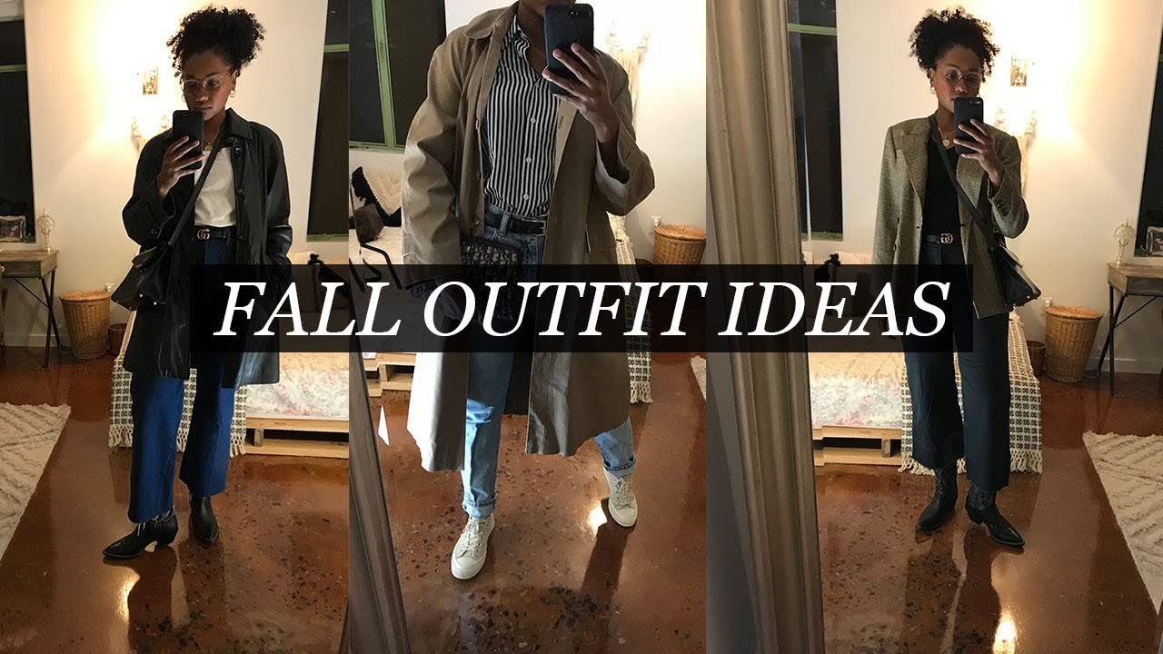 [VIDEO] - Summer to Fall Outfit Ideas Styling Trends | 2019 5