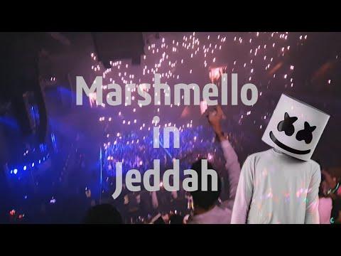 Marshmello - First time in Jeddah - 2019 - حفل مارشميلو في جده