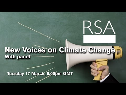 RSA Replay: New Voices on Climate Change