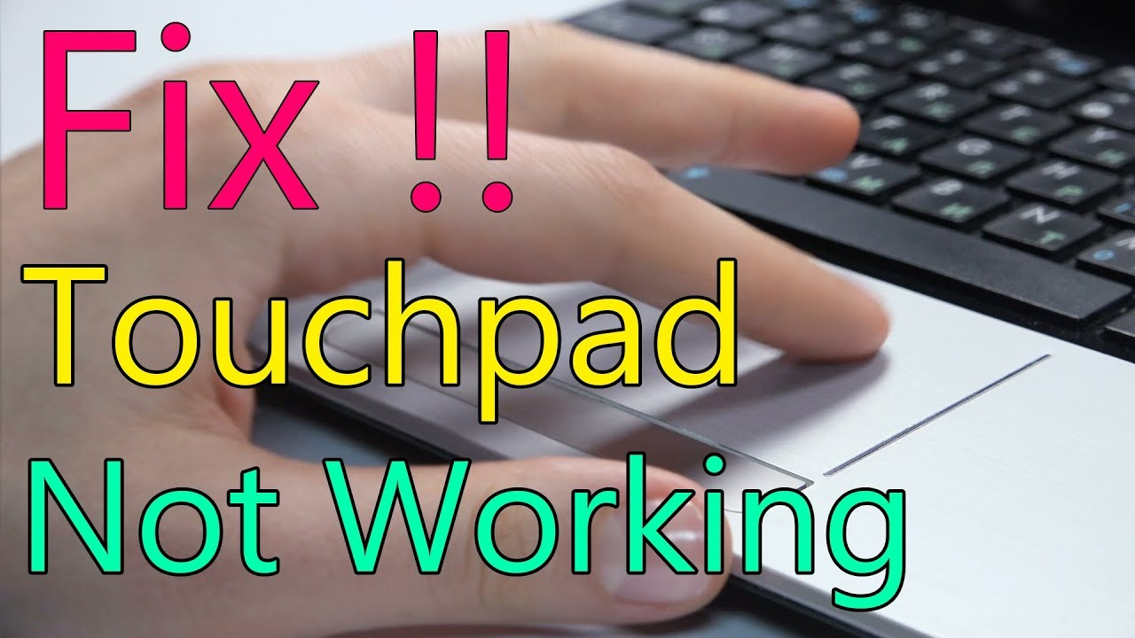 Laptop Touchpad Not Working Problem Fix Lenovo Ideapad Youtube