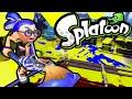 Splatoon Wii U Ink Brush! New Update Kraken Roller Inkbrush Online Gameplay Walkthrough PART 6 HD