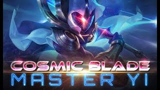 Cosmic Blade Master Yi Montage - League of Legends