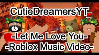 Justin Bieber-deixe-me amá-lo-Roblox Music Video