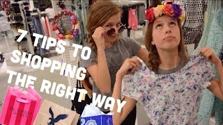 THE RIGHT WAY TO SHOP|| Shopping Tips and Tricks