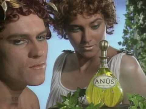 NZ On Screen - Funny Business: ANUS fragrance (with Lucy Lawless)