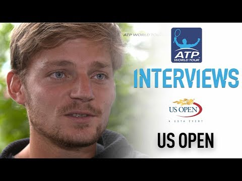 Healthy Goffin Reacts To Reaching US Open Second Week