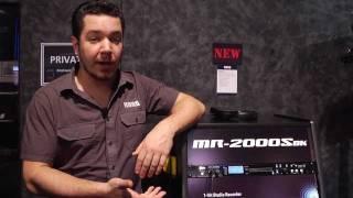NAMM 2012: Korg MR-2000SBK Studio Recorder