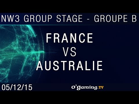 France vs Australie - NationWars III - Groupe Stage - Groupe B Match 2