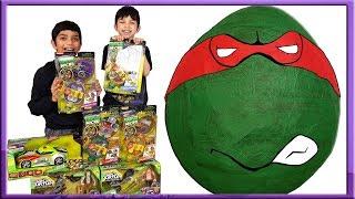 Teenage Mutant Ninja Turtles Giant Toys Surprise Egg